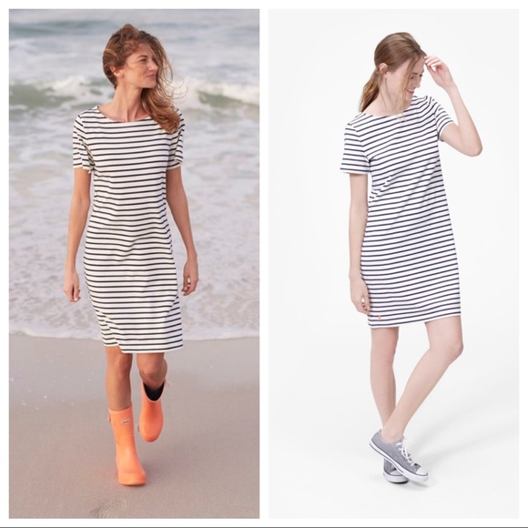 562a20bb6e9 Joules Dresses | Riviera Stripe Jersey T Shirt Dress | Poshmark